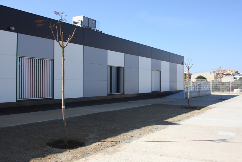Construccion no residencial | Colegio de la Pobla de Vallbona 03