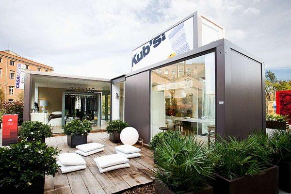 Construcción no residencial   módulos habitacionales