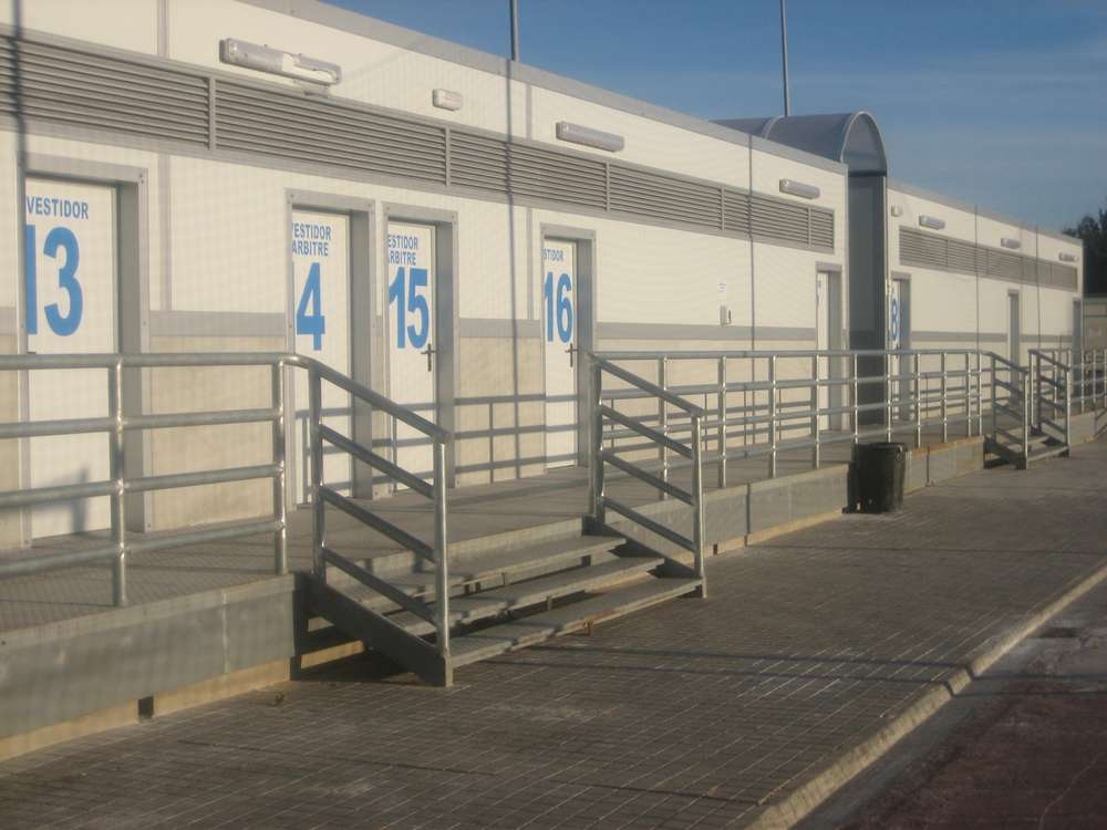 Instalaciones Deportivas | VESTUARIOS DE MISLATA