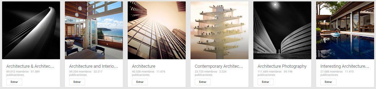 Comunidades Arquitectura