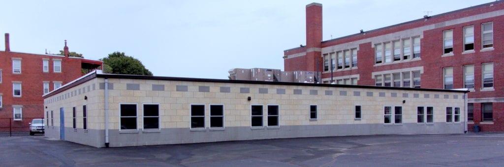 escuela modular ampliacion
