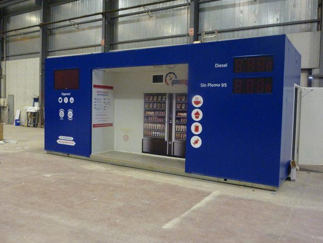 Franquicia de las gasolineras: gas express