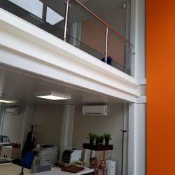 Oficina modular 2 pisos