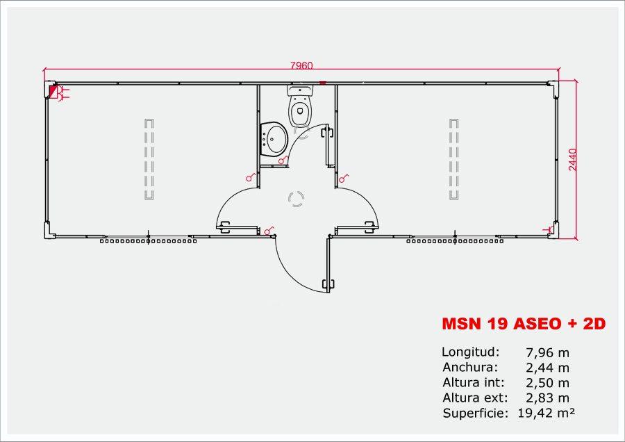 MSN-19 ASEO + 2D