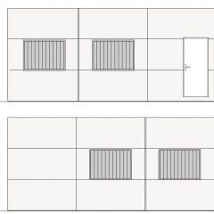 aulas modulares 45m2 altura especial alzado