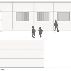 aulas modulares 60m2 altura especial alzado